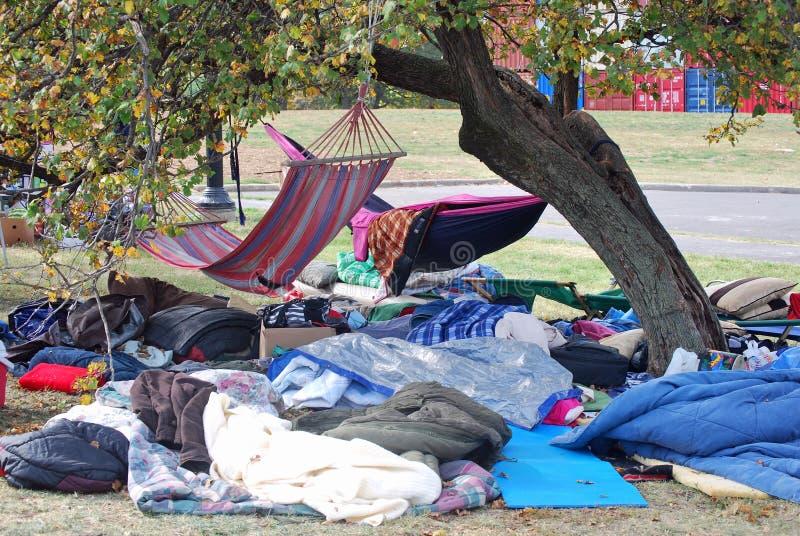 Bezet het Kamp van de Stad van Kansas stock foto's