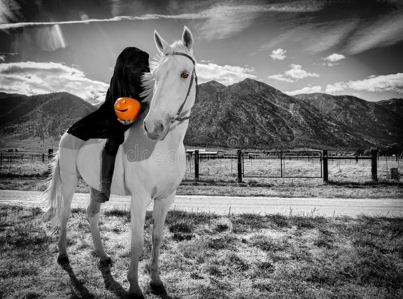 bezgłowy jeździec obrazy stock
