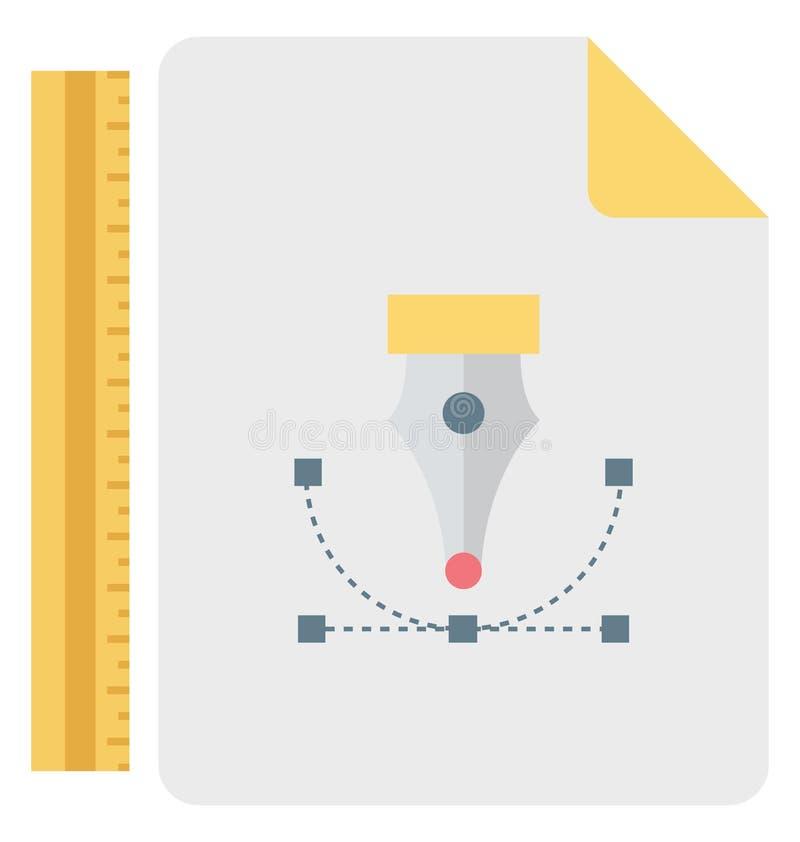 Bezier, διανυσματικό εικονίδιο εργαλείων Bezier editable ελεύθερη απεικόνιση δικαιώματος
