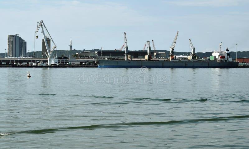 Bezige Haven stock afbeeldingen