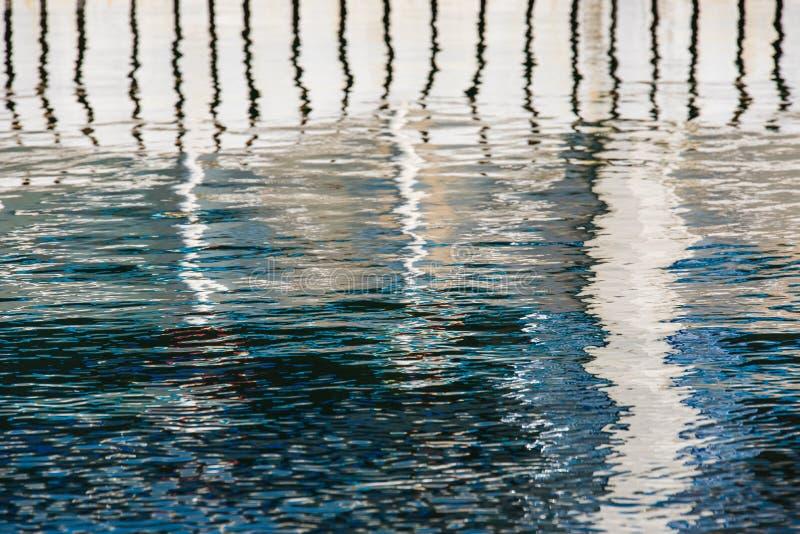 Bezinning over het water royalty-vrije stock foto's