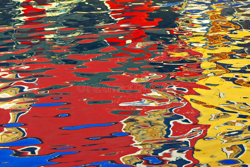 Bezinning over Venetië stock afbeeldingen
