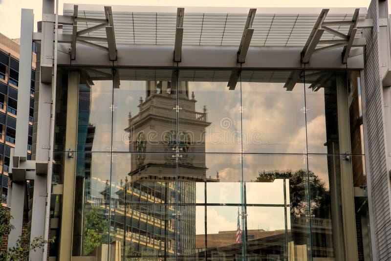 Bezinningen van Americana in Philadelphia stock fotografie