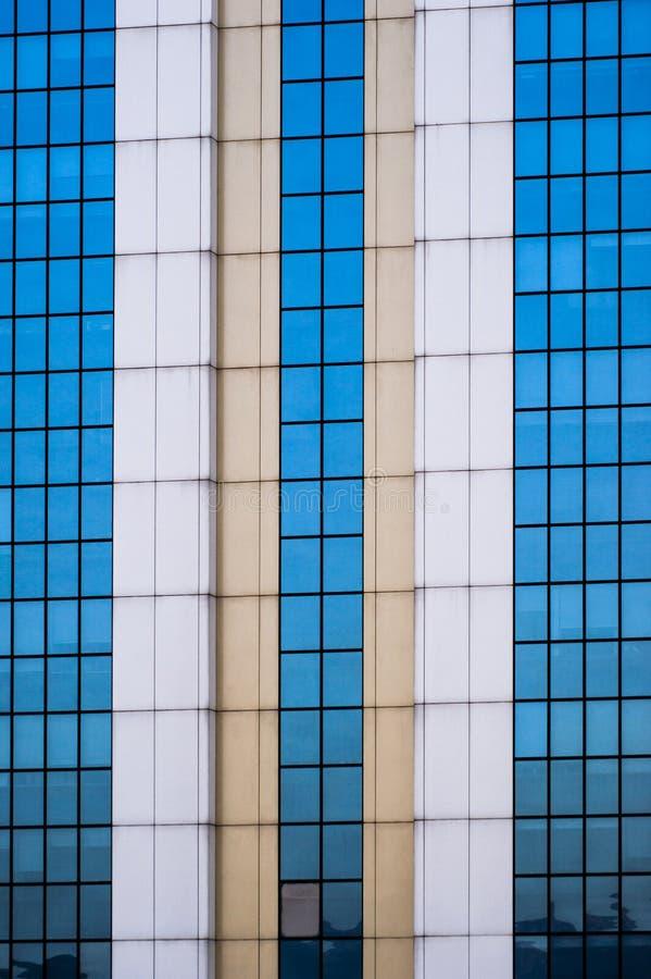 Bezinningen van vensters stock fotografie