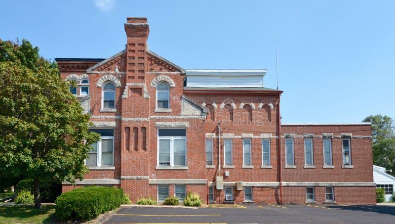 Bezirk-Bibliothek stockfoto