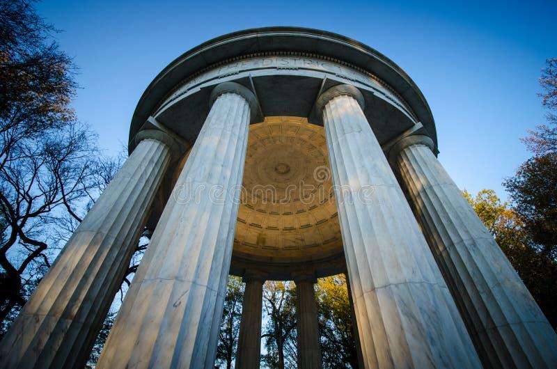 Download Bezirk Columbia-Weltkrieg-Denkmal Stockbild - Bild von bezirk, kolumbien: 27732697