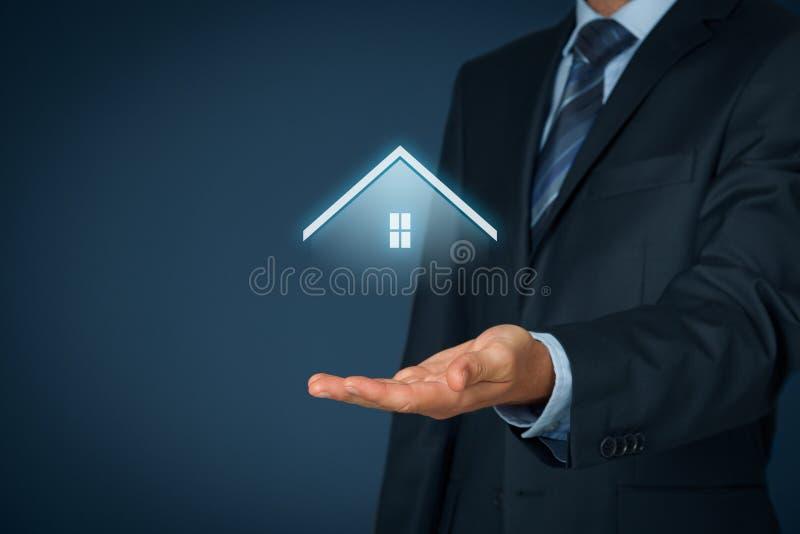 Bezit insurance royalty-vrije stock afbeelding