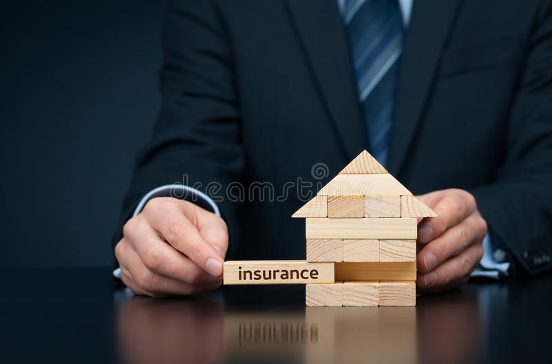 Bezit insurance royalty-vrije stock fotografie