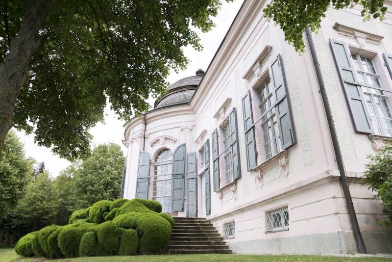 Bezit van Klooster van Melk, Benedictine Abbey In Wachau Valle royalty-vrije stock afbeeldingen
