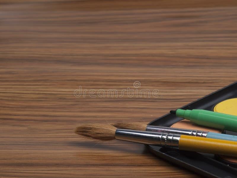 Bezittingen voor tekening royalty-vrije stock afbeelding