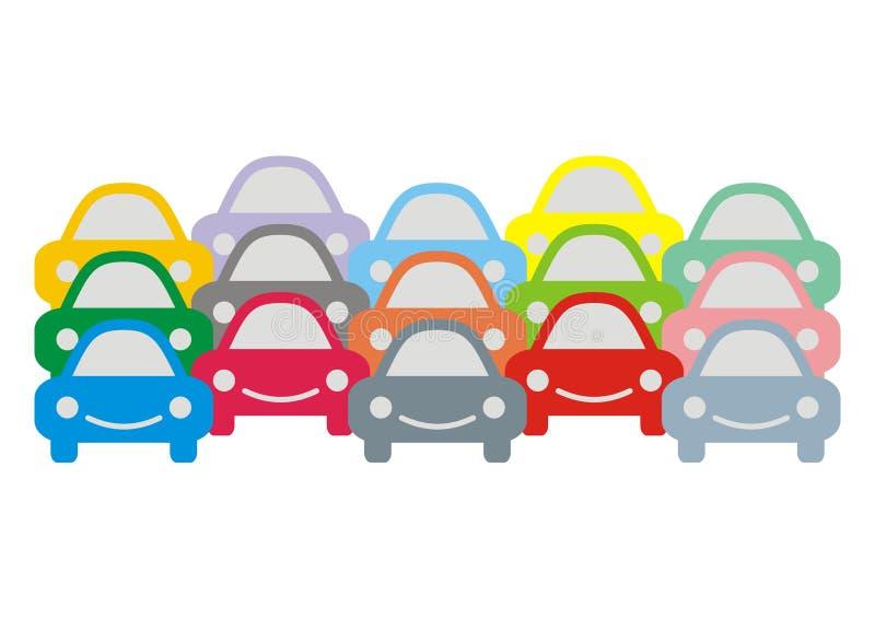 Bezlików samochody ilustracji
