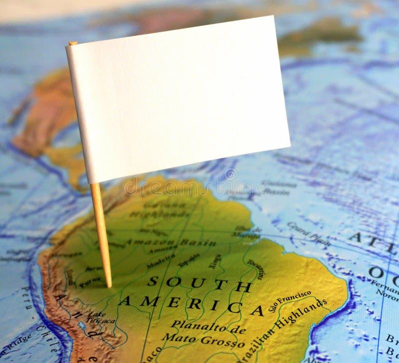 Bezoek Zuid-Amerika stock afbeelding