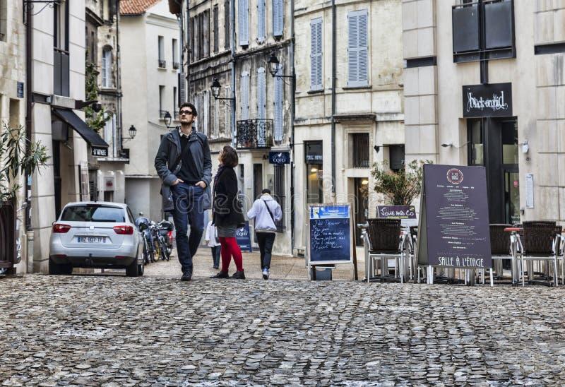 Bezoekend Avignon royalty-vrije stock foto
