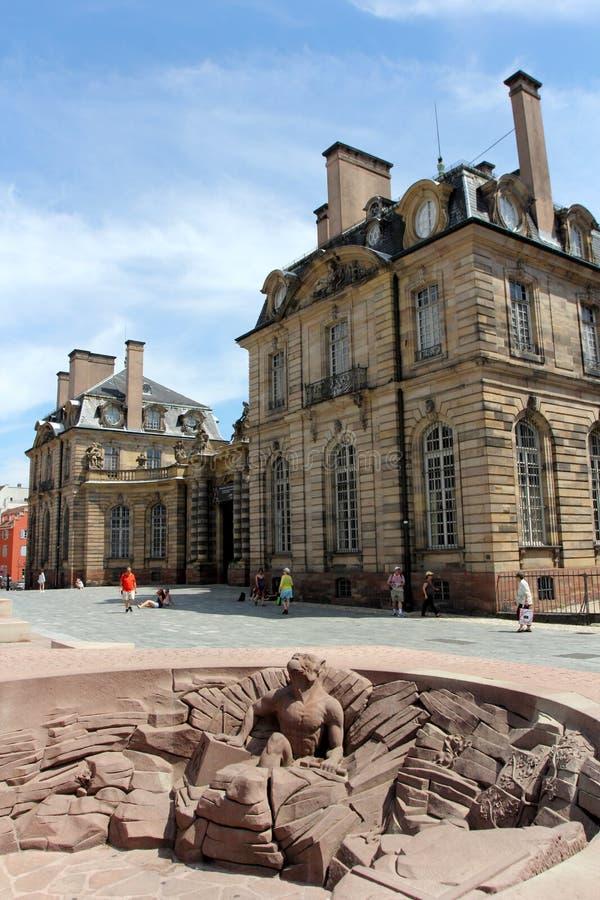 Bezoekend Straatsburg, Frankrijk stock fotografie
