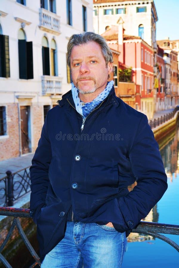 Bezoekend Venetië, Italië royalty-vrije stock fotografie