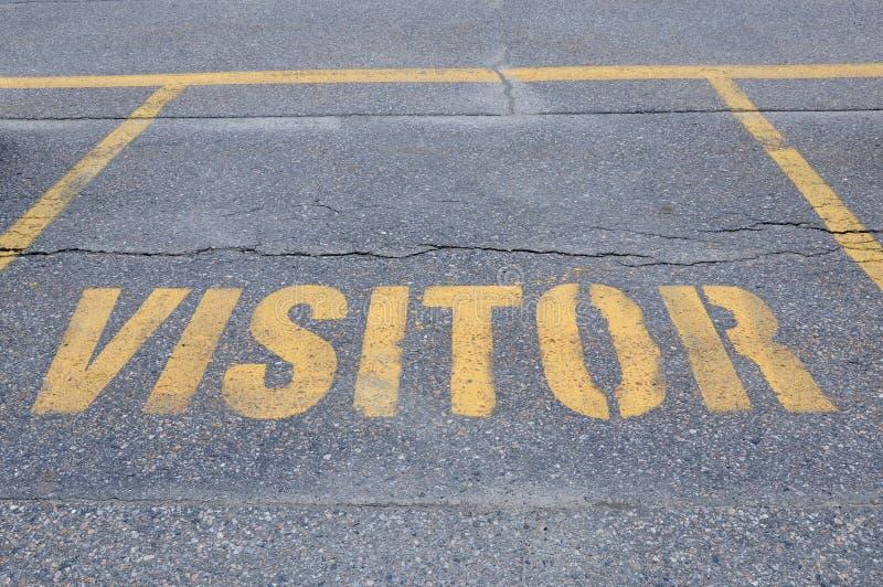 Bezoekerteken stock afbeelding