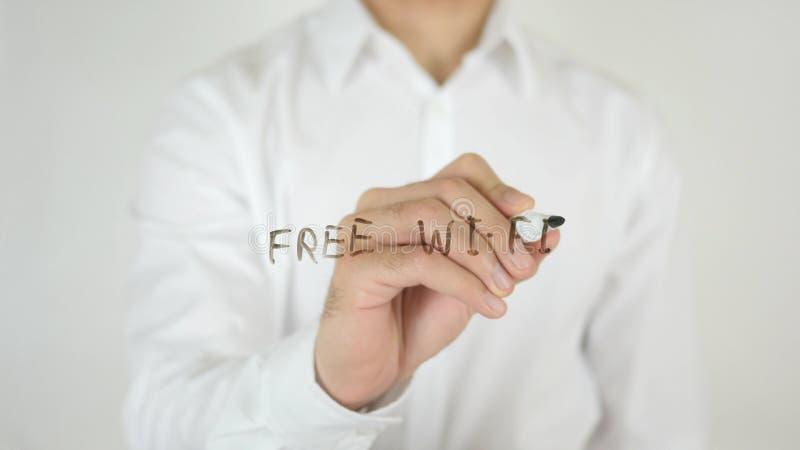 Bezpłatny Fi, Pisać na szkle zdjęcie royalty free