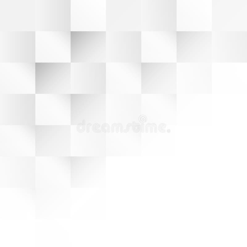 Bezpłatny wektor kwadratowa tło kratownica royalty ilustracja