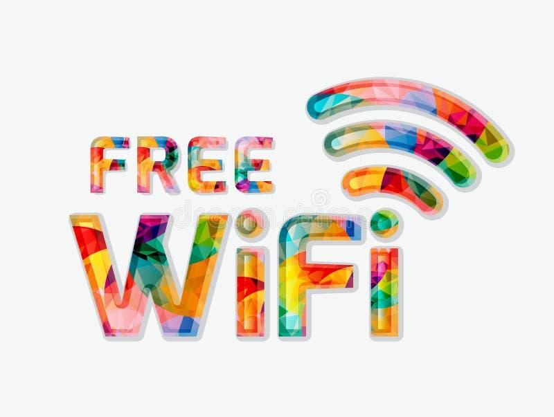 Bezpłatny wifi ilustracja wektor