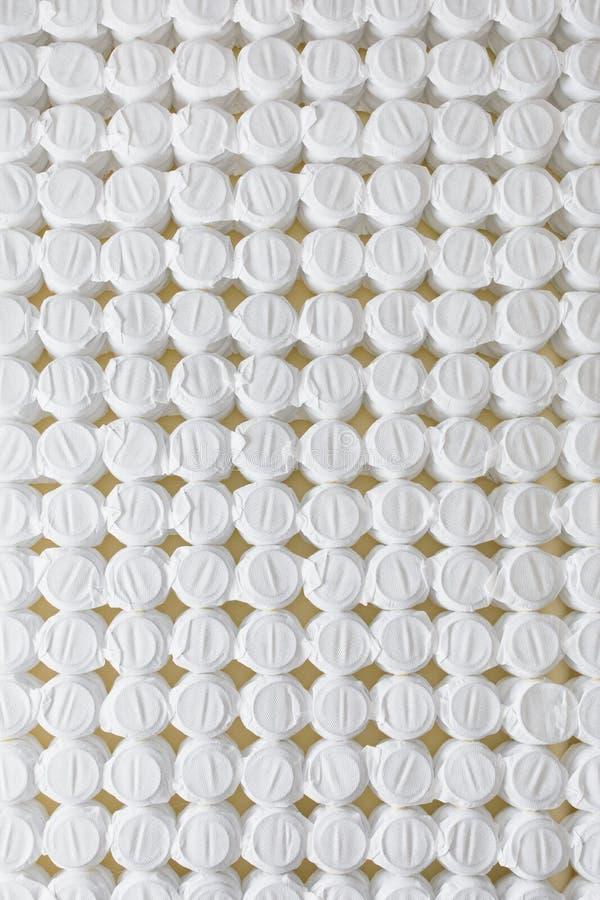 Bezpartyjnik wiosny materac łóżka bazy kieszeniowa podstawa fotografia royalty free