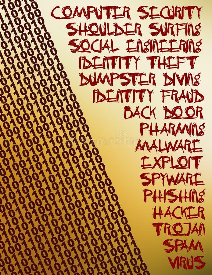 Download Bezpieczeństwa Komputerowego Kolaż Zdjęcie Stock - Obraz złożonej z plecy, siekający: 134566