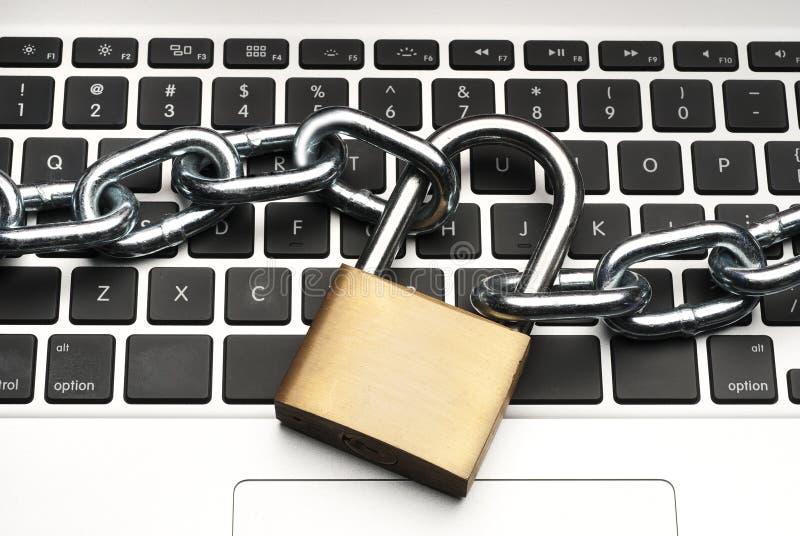 Bezpieczeństwa Komputerowego pojęcie obraz royalty free