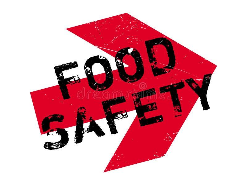 Bezpieczeństwo żywnościowe znaczek royalty ilustracja