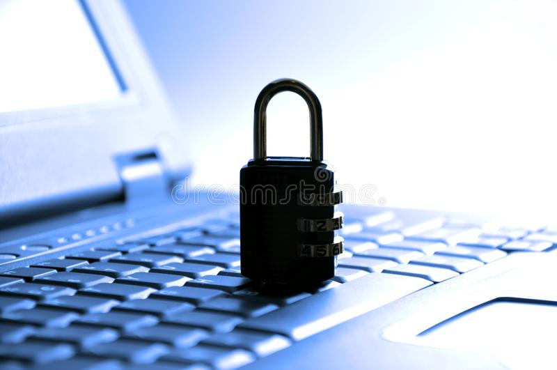 bezpieczeństwo komputerowe obraz royalty free