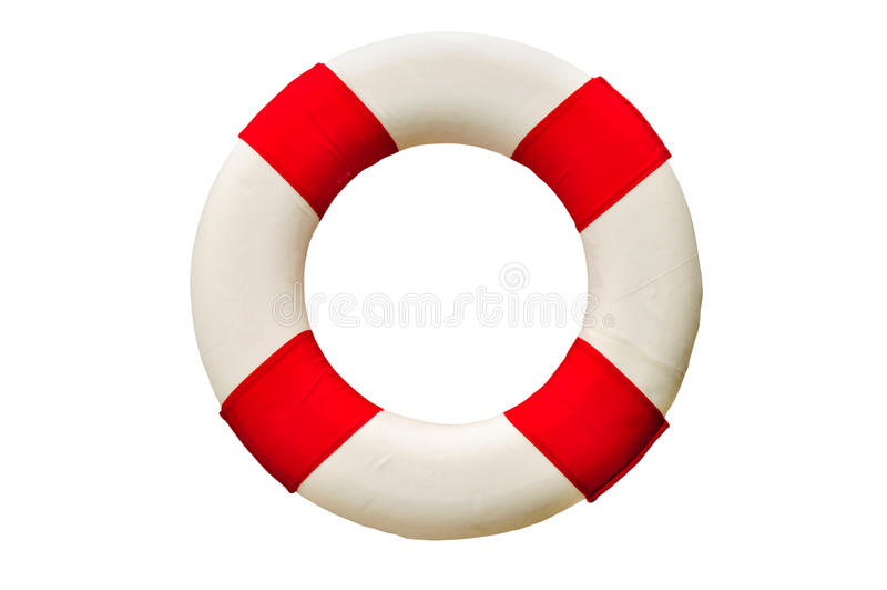 Bezpieczeństwo pierścionek (lifebuoy) zdjęcia stock