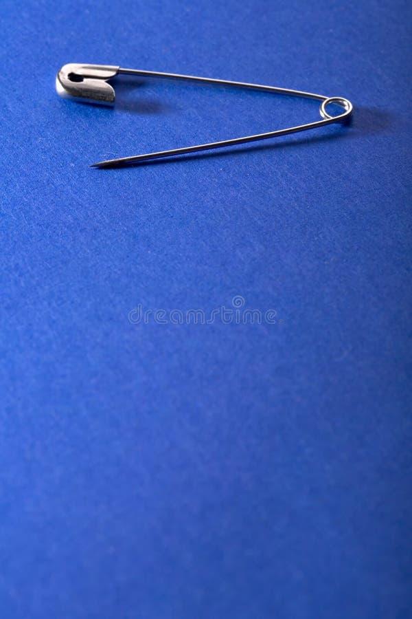 bezpieczeństwo pin zdjęcie stock