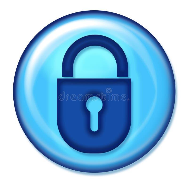 bezpiecznej sieci przycisk