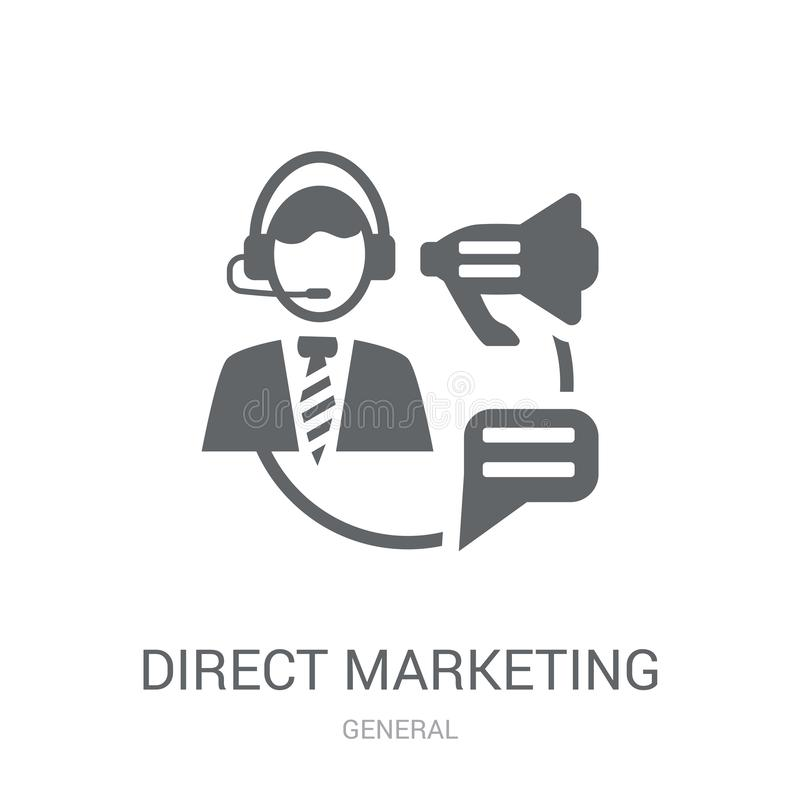 Bezpośredniego marketingu ikona  royalty ilustracja