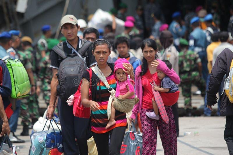 bezprawna obecność i ja dewiacyjne ideologie w Indonesia zdjęcia stock