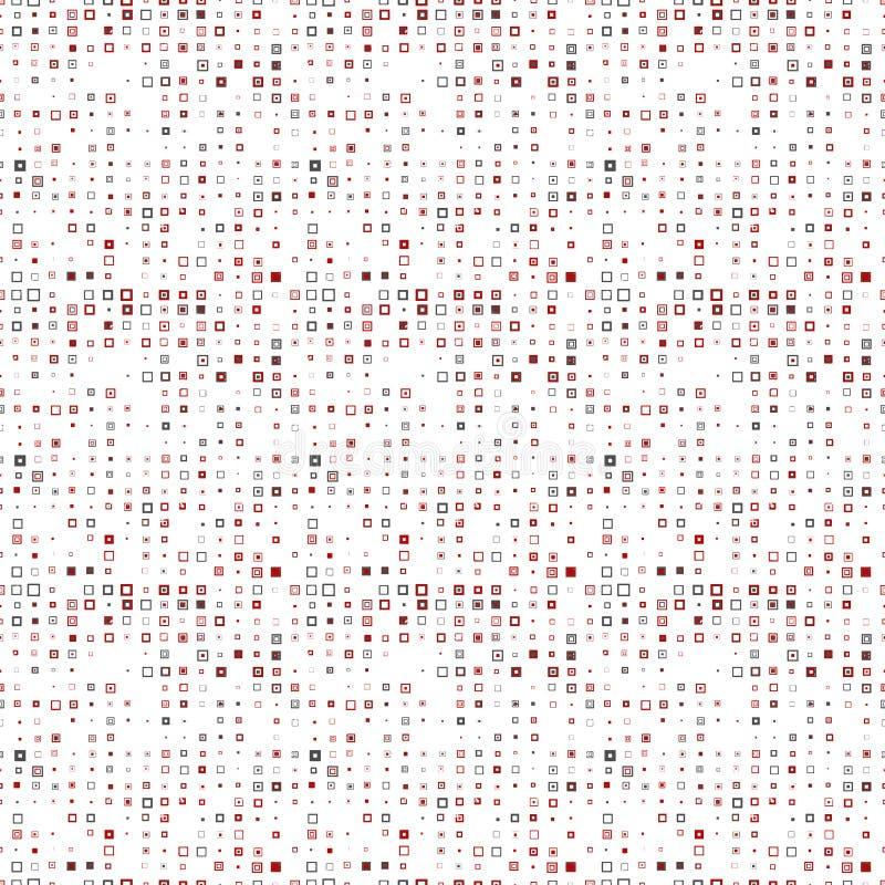 Bezproblemowa tekstura gałęzi na białym tle ilustracja wektor