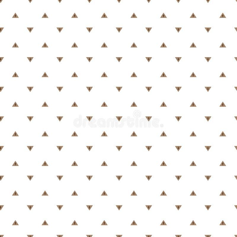 Bezproblemowa tekstura gałęzi na białym tle ilustracji