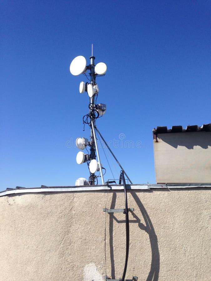 Bezprzewodowa komórkowa antena obrazy royalty free