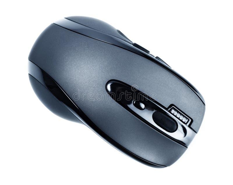 Bezprzewodowa komputerowa mysz fotografia stock