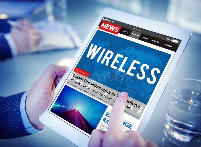 Bezprzewodowy Podłączeniowy Komunikacyjny modemu punktu pojęcie zdjęcia royalty free