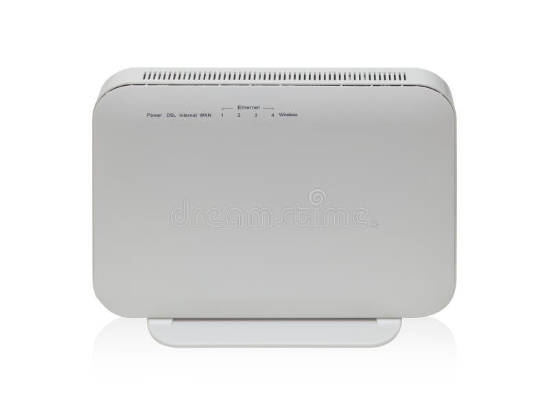 Bezprzewodowy szerokopasmowy router zdjęcia stock