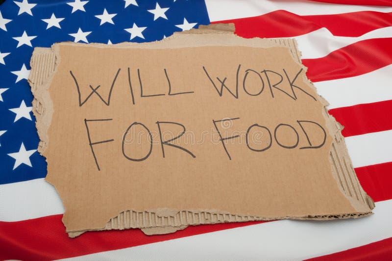 bezrobocie usa fotografia royalty free