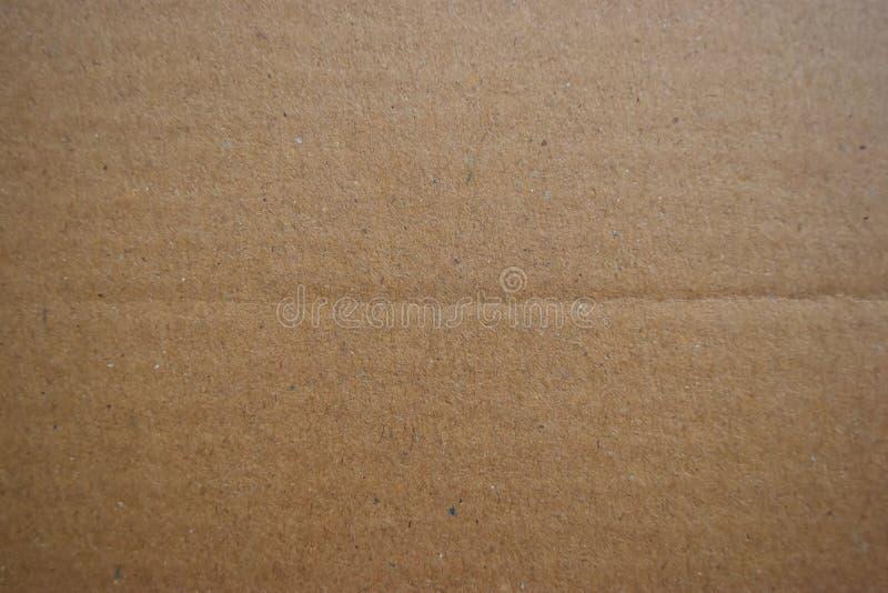 Bezszwowa brown papieru tekstura i kartonu tło zdjęcia stock