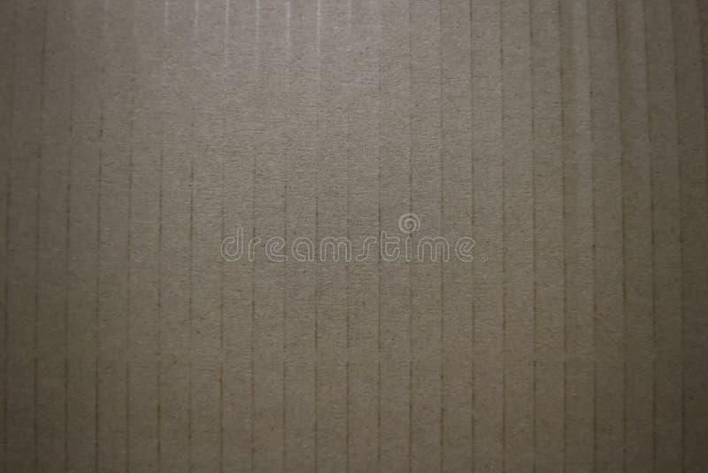 Bezszwowa brown papieru tekstura i kartonu tło zdjęcia royalty free