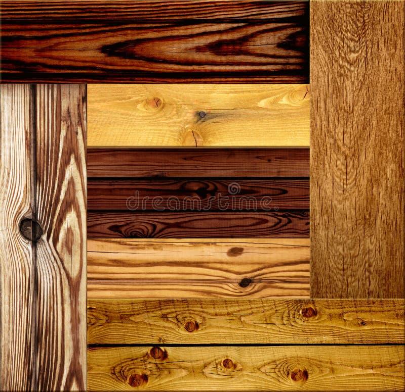 Bezszwowa drewniana tekstura fotografia royalty free