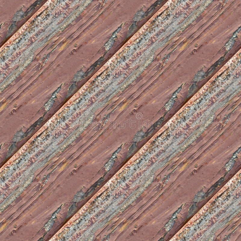 Bezszwowa fotografii tekstura drewniane deski z czerwień olejem obrazy royalty free