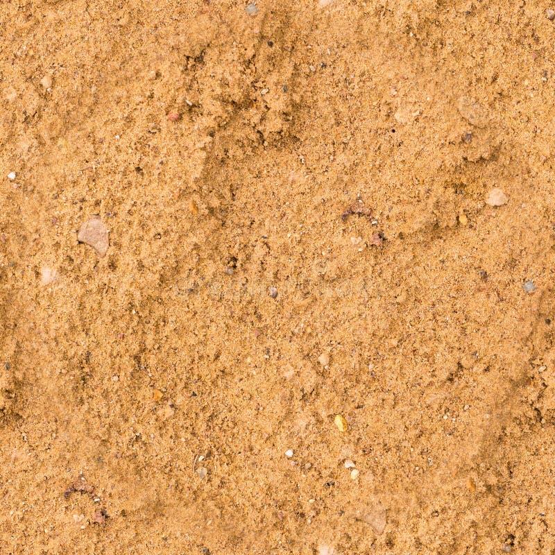Bezszwowa mokra piasek tekstura plaża, tło zdjęcie stock