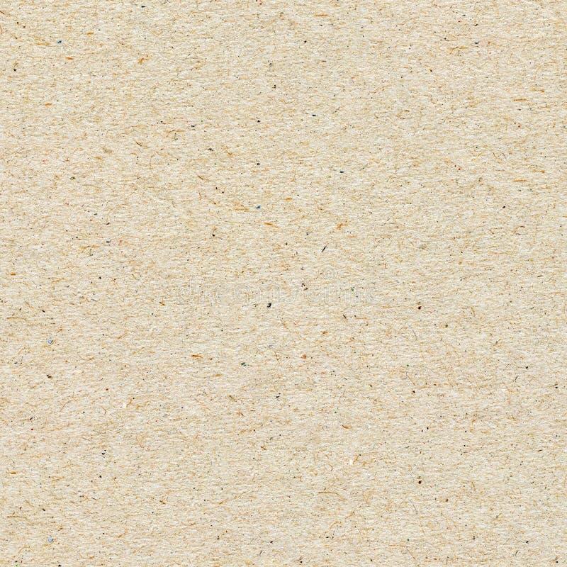 Bezszwowa papierowa tekstura, kartonowy tło obraz royalty free