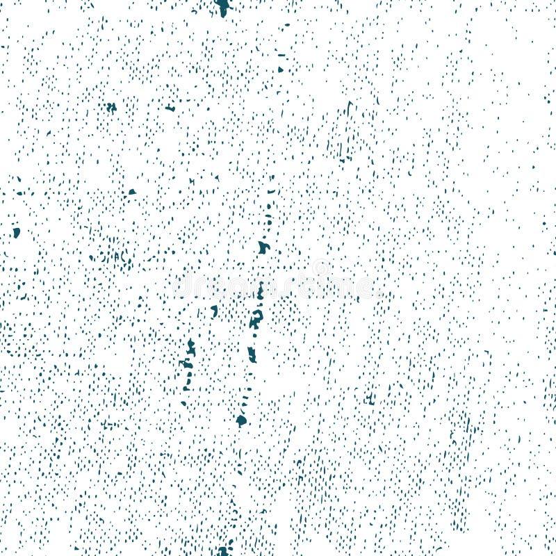 Bezszwowa stara ośniedziała grunge tekstura, wektorowy tło ilustracji