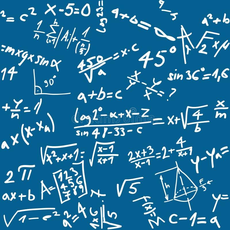 bezszwowa tło matematyka ilustracji