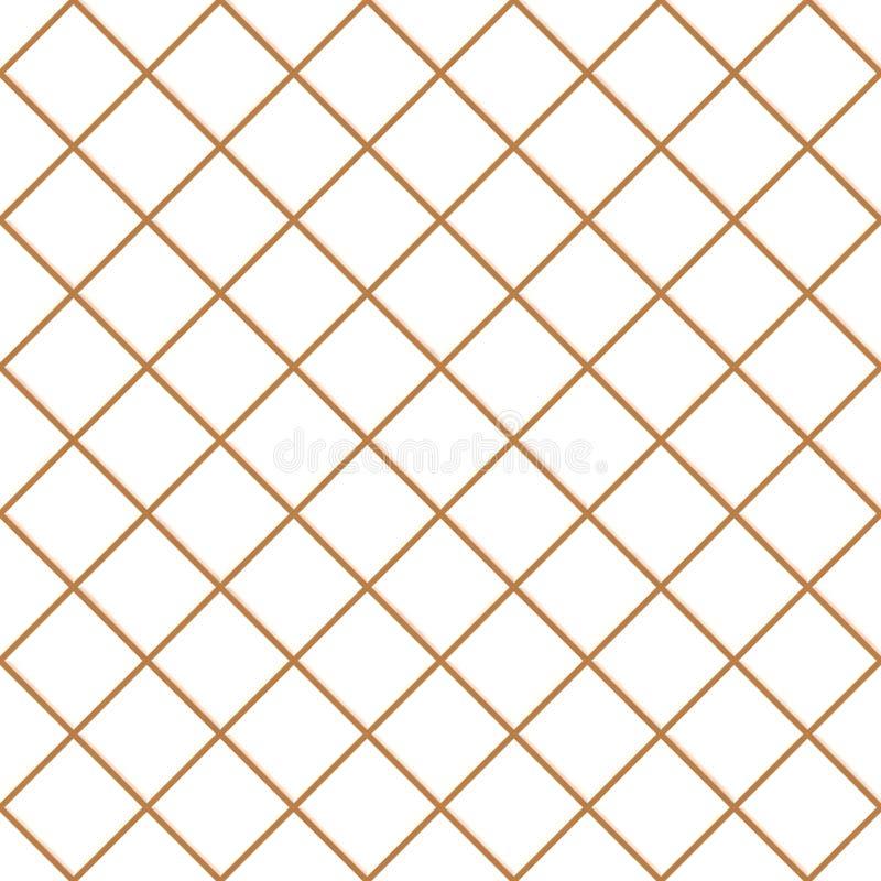 bezszwowa tło tekstura tafluje biel ilustracja wektor