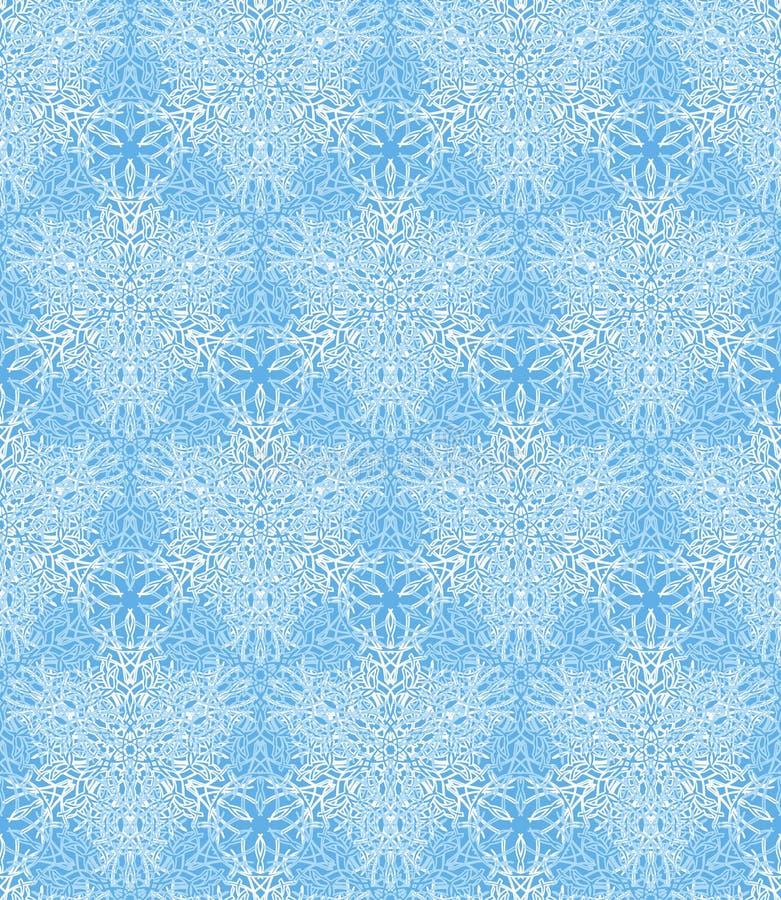 bezszwowa tło zima ilustracja wektor